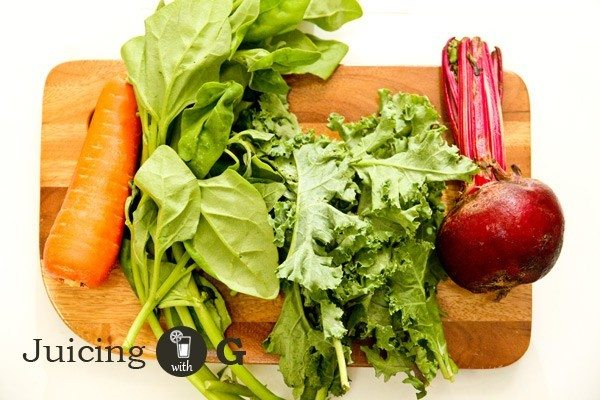 Beet-Kale Ingredients