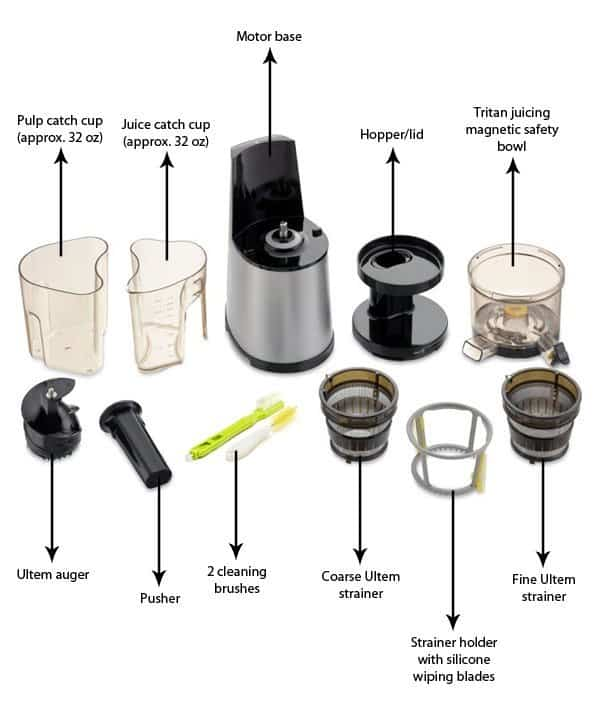 Hurom Slow Juicer And Smoothie Maker : Hurom HH Series Slow Juicer and Smoothie Maker Review