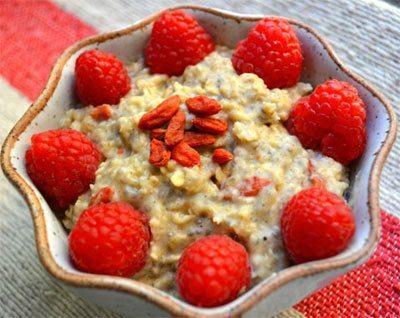 Berry Blast Oatmeal