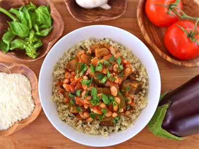 Italian Vegetable Quinoa Bowls