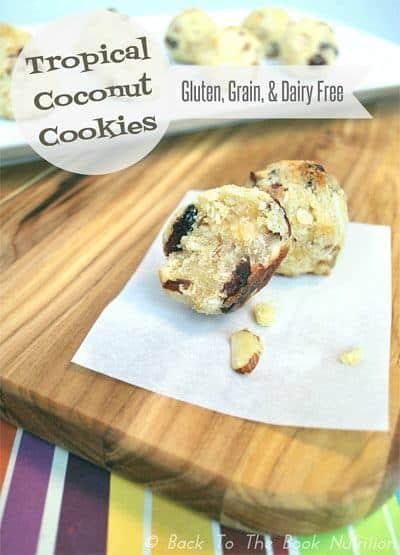 Tropical Coconut Cookies