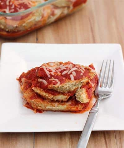 Weights Watchers Eggplant Parmesan