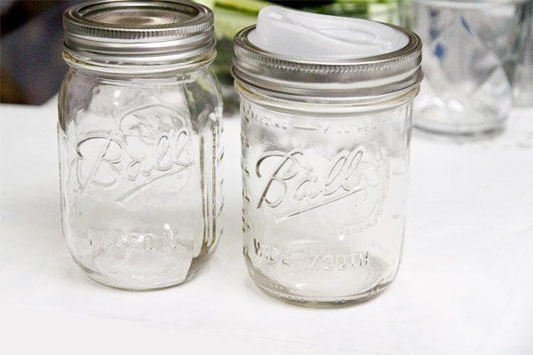 Comparing Mason Jars