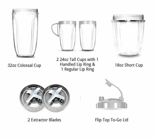 Magic bullet nutribullet pro 900 series review for Magic bullet motor size